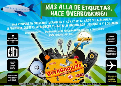 festival overbooking valencia. groovelives