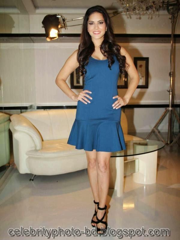 Sunny+Leone+Photos+in+Short+Dress+at+MTV+Webbed+In+Mumbai+Drama+Series+Shooting004