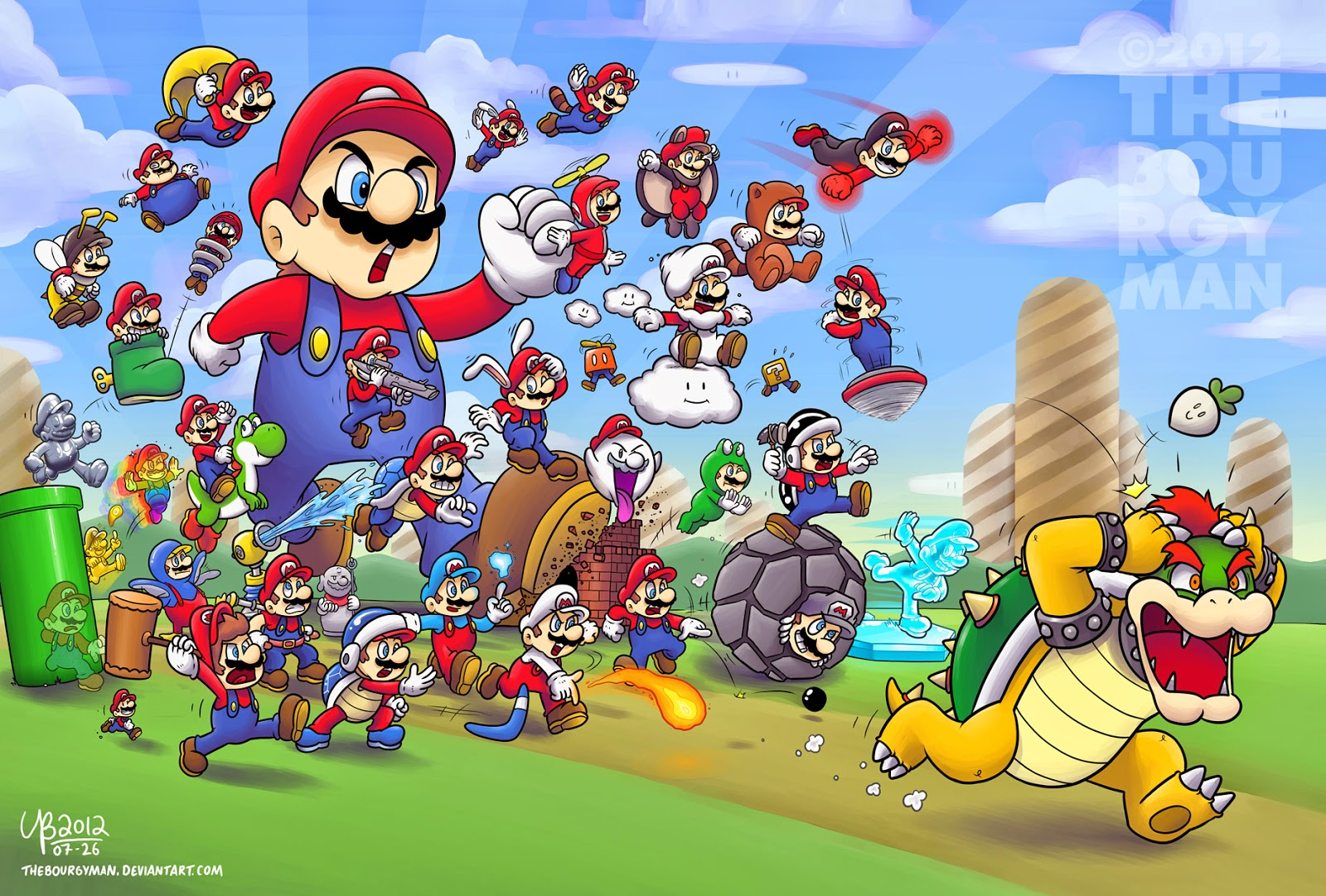 All Mario Power Ups Life Of Turner Ranking The Games