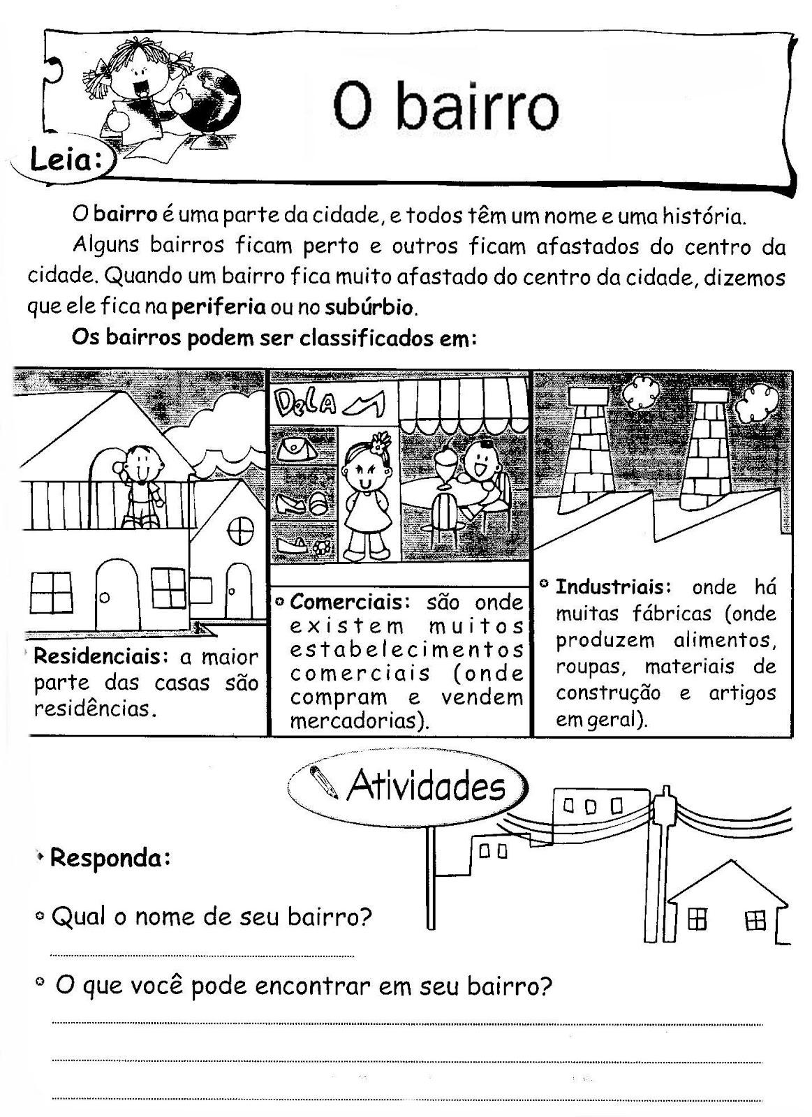 Blog Professor Zezinho Atividade De Geografia Para O