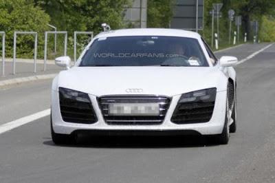 Spyshots : Audi R8 Facelift 2013