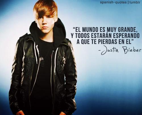 Frases fotos y portadas de artistas: Frases y fotos de Justin Bieber ...