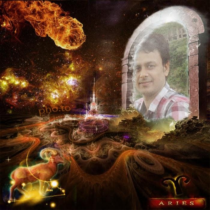 Aries Zodiac Signs Photo Frame Effect online free - FunnyPhotoBox ...