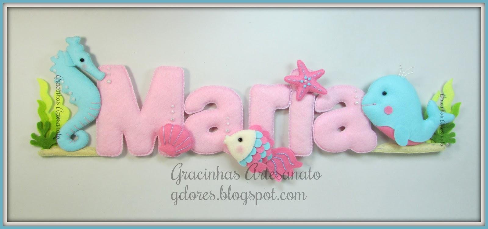 Armario Multiuso Para Cozinha ~ Um banner para decorar o quarto da Maria Gracinhas Artesanato