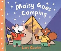bookcover of MAISY GOES CAMPING by Lucy Cousins