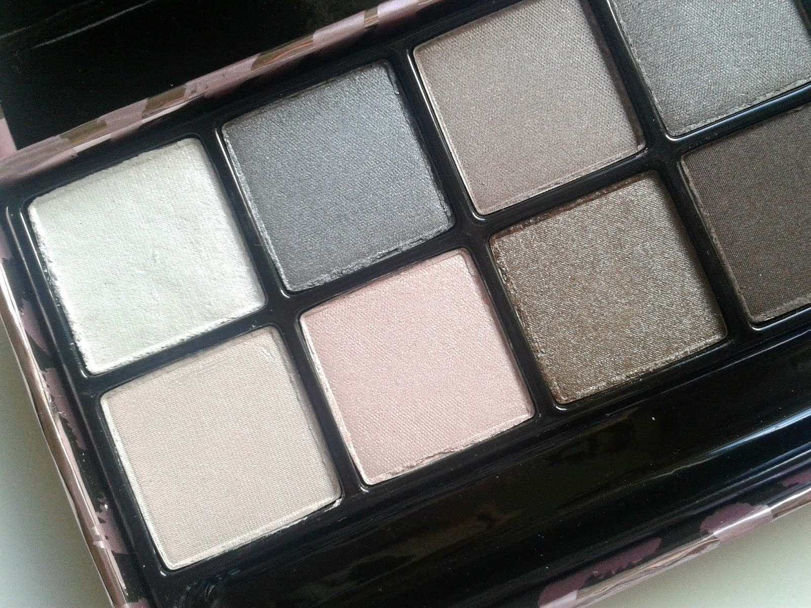 Victoria's Secret Smoky Exotics Eye Palette Beauty Review Eyeshadow