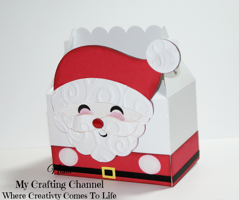 My crafting channel cute mr mrs claus treat boxes