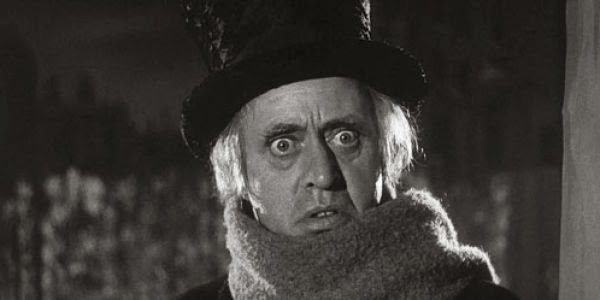 The Establishing Shot: ALISTAIR SIM'S SCROOGE IN 'A CHRISTMAS ...