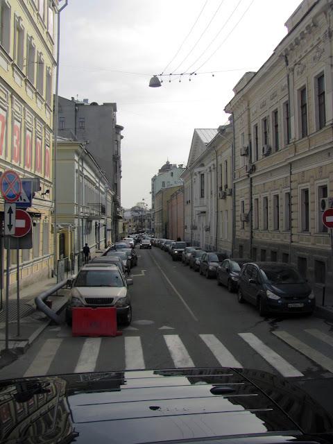 Улочки и переулки Москвы