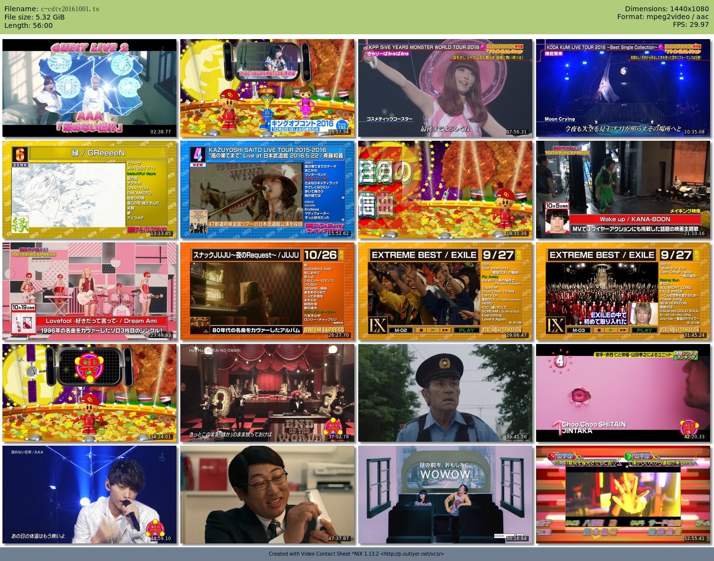 [TV-Variety] CDTV (2016.10.01/TS/5.32GB)