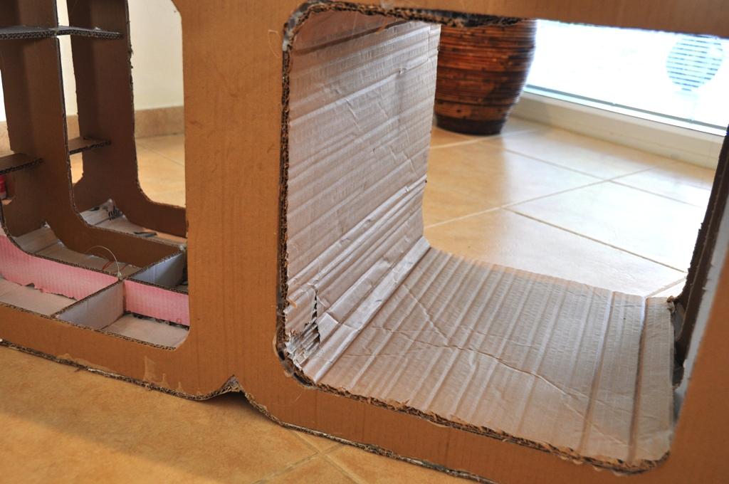 Buiding a Cardboard Cabinet