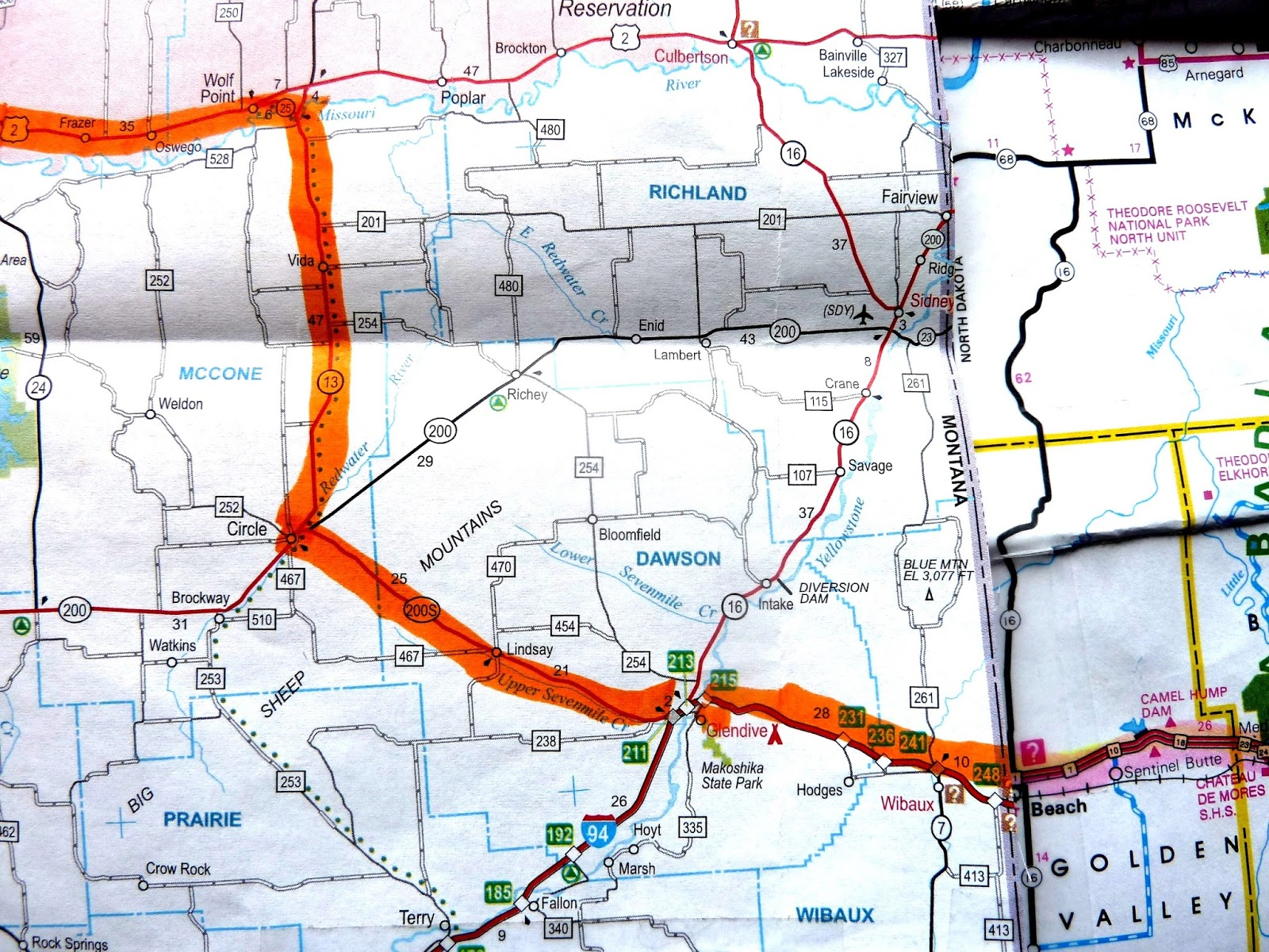 Seniors Walking Across America POST  JULY   ROUTE - Map us route 20