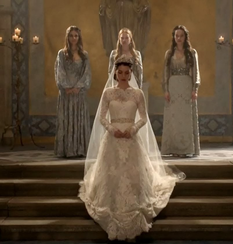 Reign 113 The Consummation Review What A Day For A White Wedding