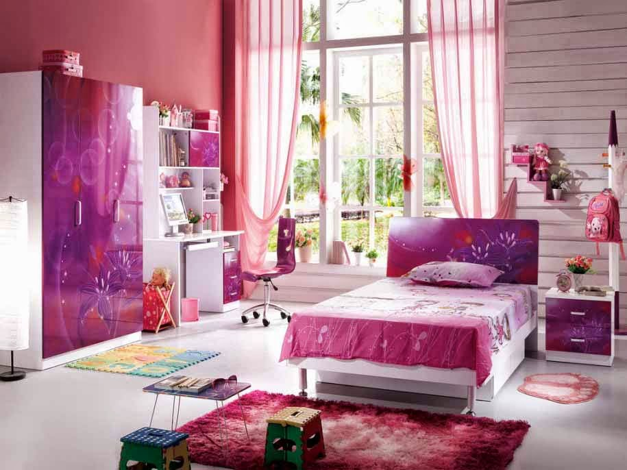 Model kamar tidur anak remaja putri 2015