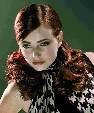 peinados+y+corte+de+pelo+rojo+borgoña