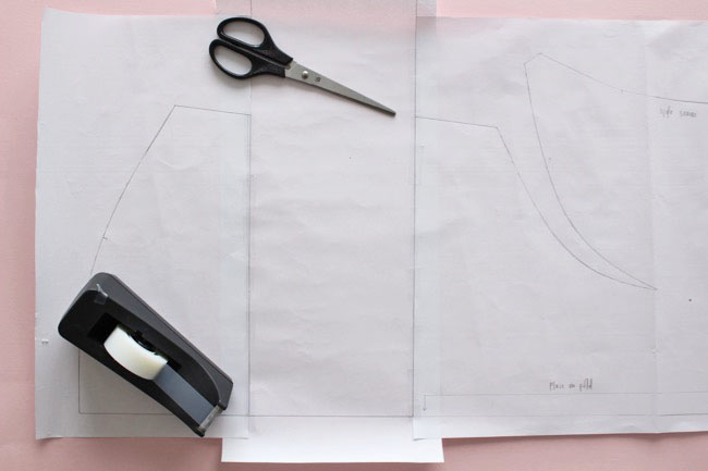 Orla sewing pattern dress hack!
