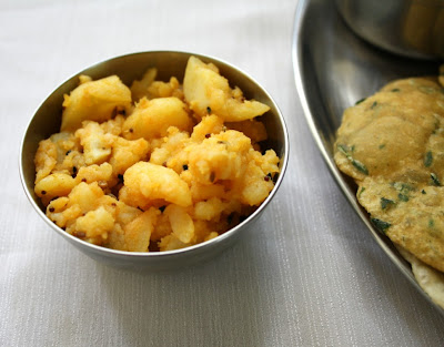 Panch Phoran Aloo