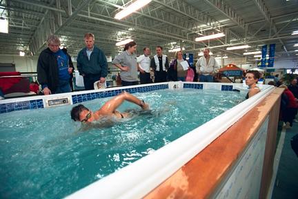 Backyard pool spa show coming to suburban collection for Pool and spa show usa