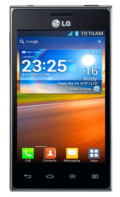 LG Optimus L5 Dual E615 3G smart phone
