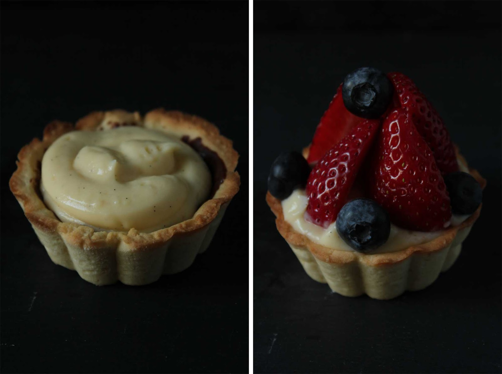 fleur du poirier -: fresh fruit tartelettes. frische frucht ...