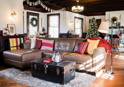 Lowe's Holiday Makeover Recap - Vintage Christmas Remix by Eastcoast Creative