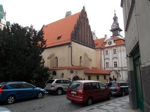 """""""Old - New Synagogue"""" in Josefov  Quarter of Prague."""