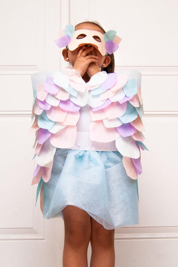 Hazlo tú misma: Disfraz de pájaro para los niños | Todobebé
