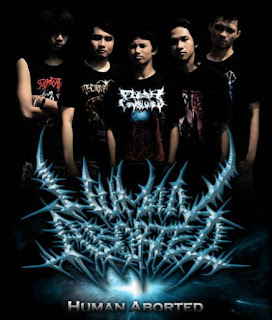 Human Aborted Band Brutal Death Metal Kediri