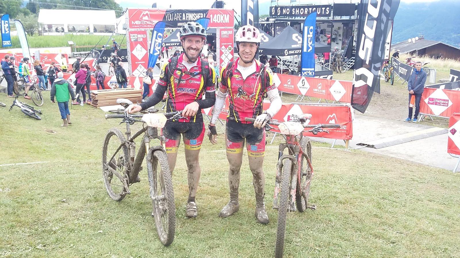 MbRace classic 50 km, Bravo Julien et Alexandre