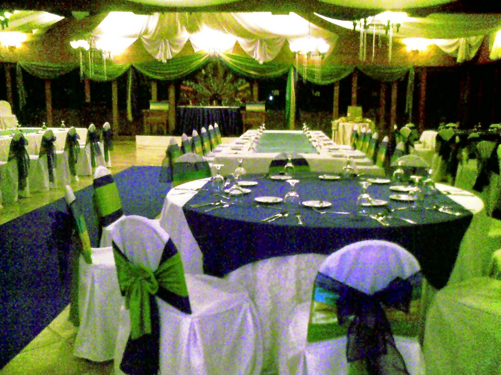 Blue Green and White Garden Wedding   WEDDING PACKAGES