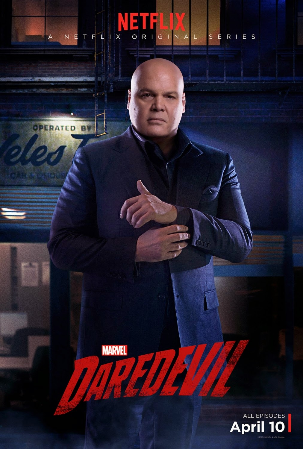Marvel's Daredevil Character Television Poster Set - Vincent D'Onofrio as Wilson Fisk