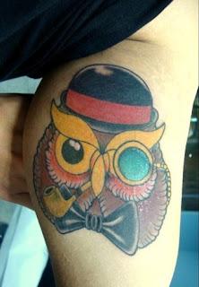 significado e fotos de Tatuagens de Coruja
