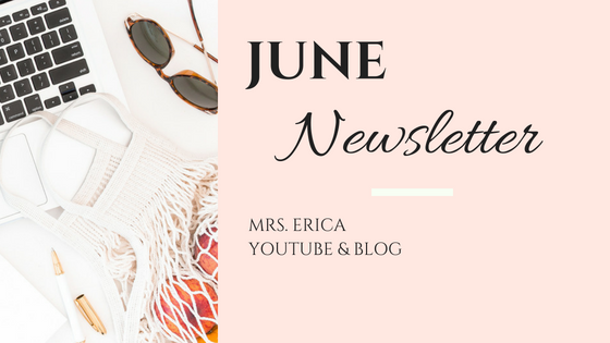 June Monthly Newsletter