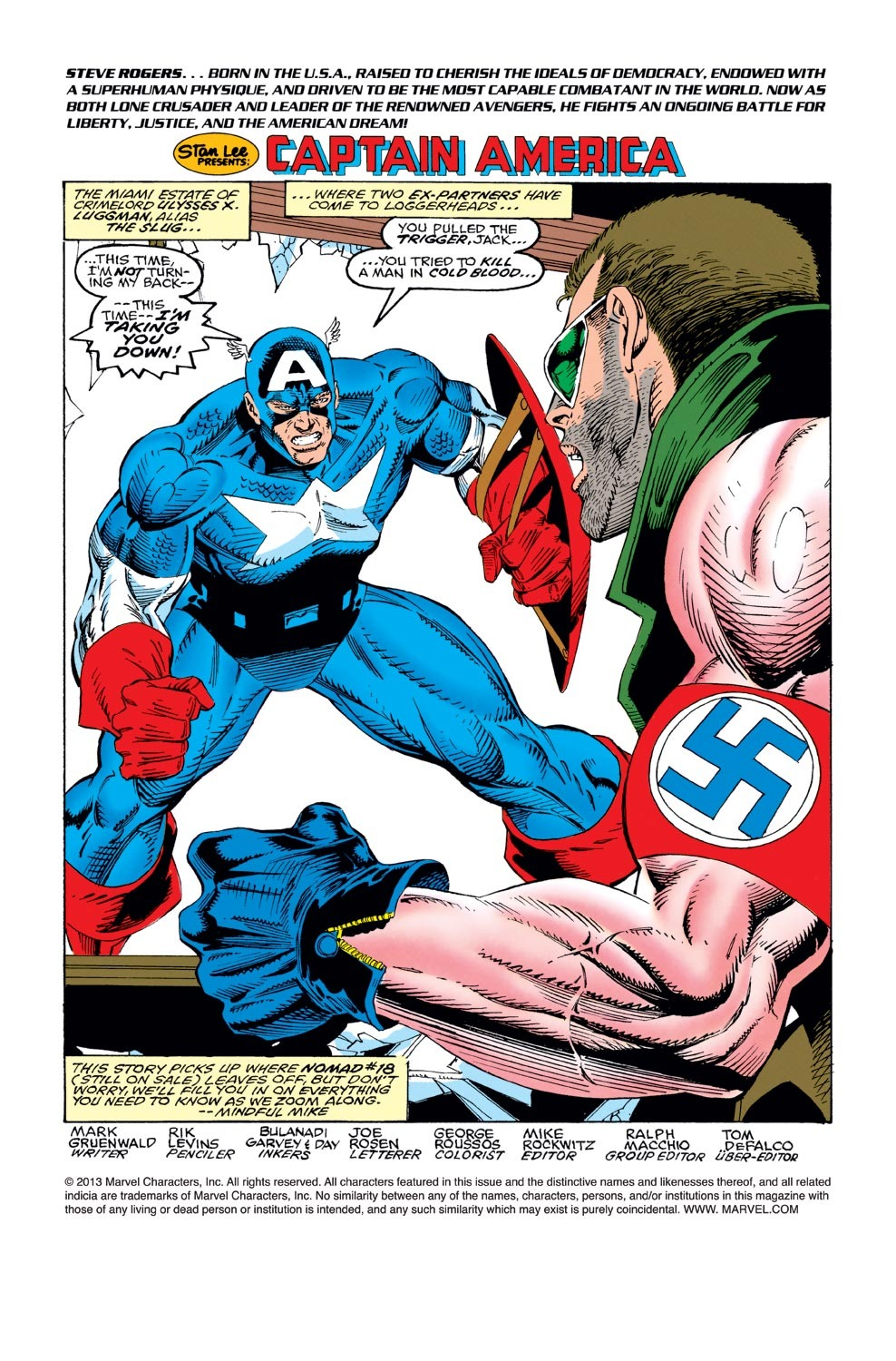 Captain America (1968) Issue #421 #371 - English 2