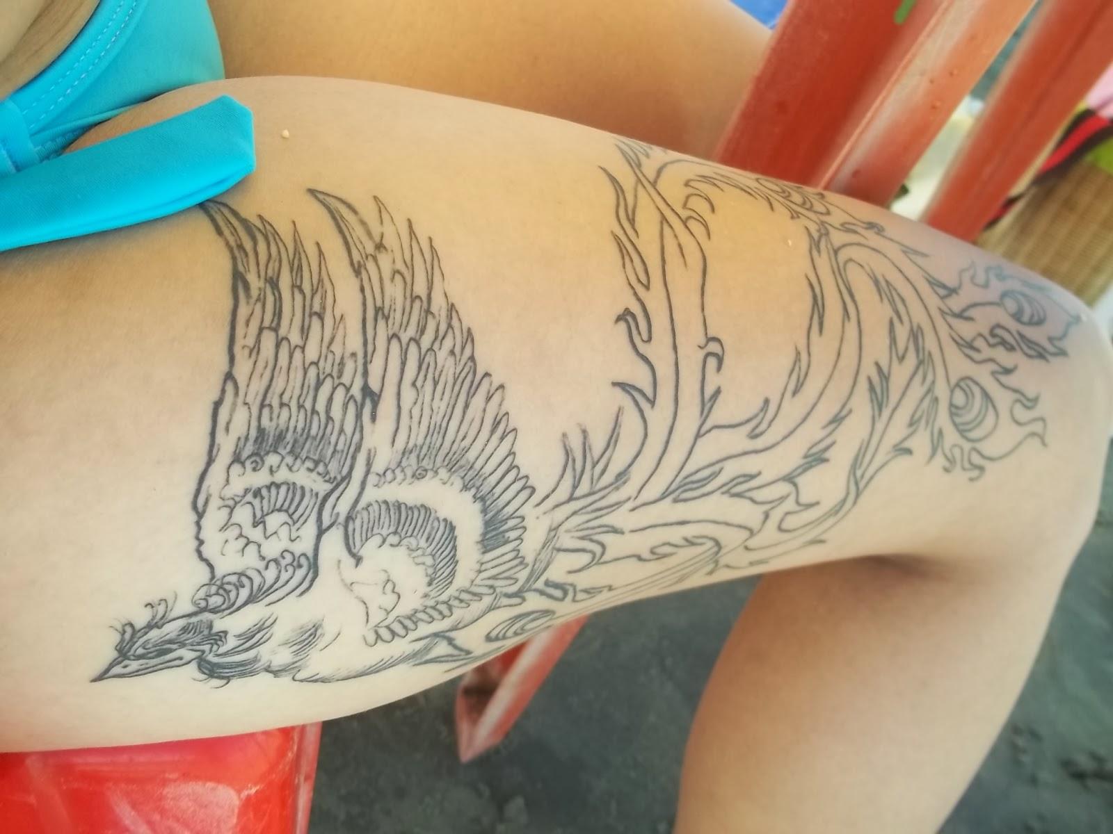 Excepcional Um Pouco De Mim: 4ª Tattoo: A Fênix (Primeira sessão) NG57