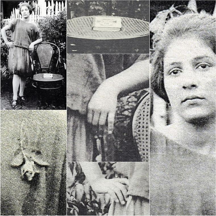 Collage de María Ossa Ossa a los 15 años en Restrepo1923