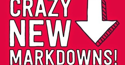 Image result for crazy markdowns
