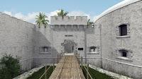 Antigo campo de concentração vira resort