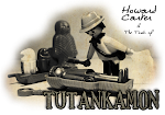 Howard Carter y Tut en Facebook