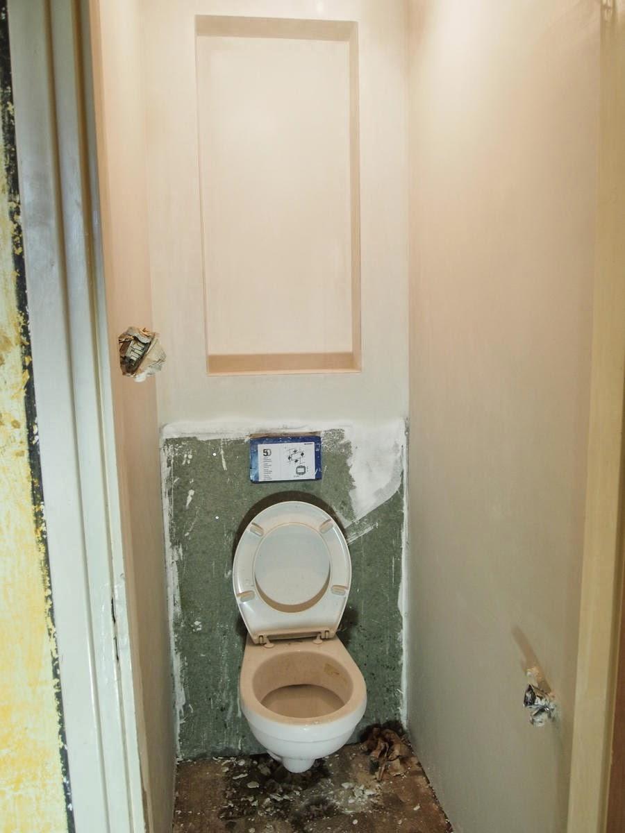 de kleine verbouwing het toilet bijna. Black Bedroom Furniture Sets. Home Design Ideas