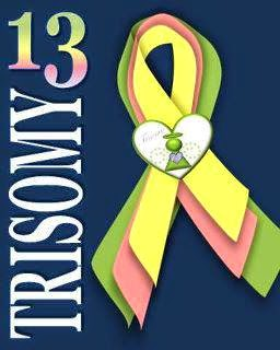 Trisomy 13 Awareness Ribbon