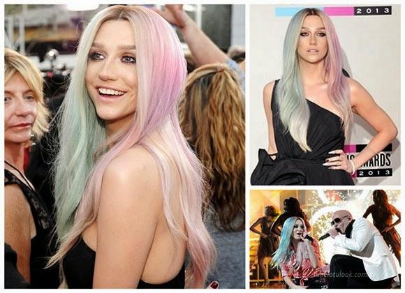 peinados 2014 kesha amas
