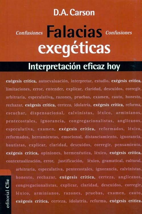 Falacias Exegéticas – D. A. Carson.