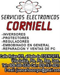 SERVICIOS ELECTRÓNICOS CORNIEL