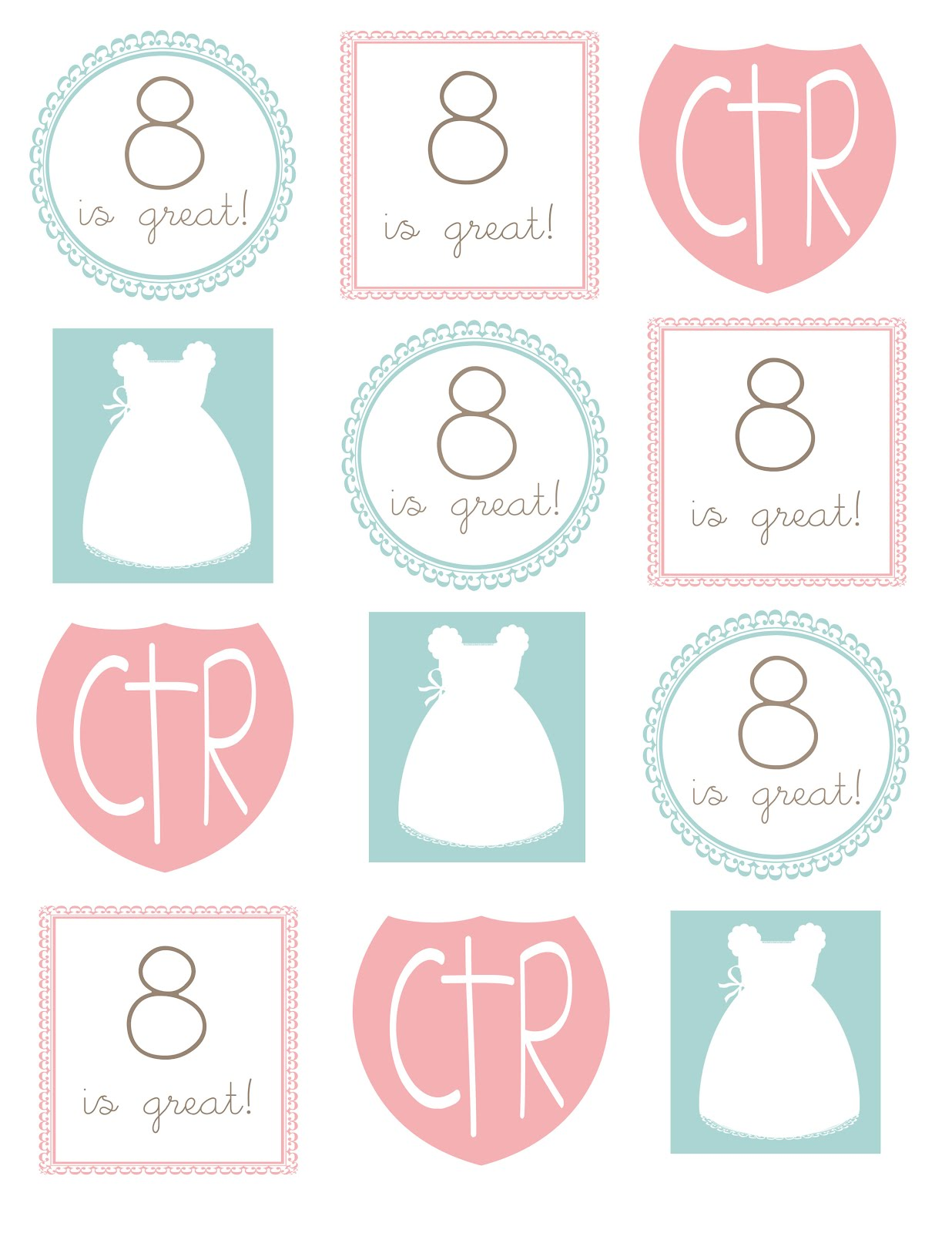 This is an image of Playful Free Lds Printables