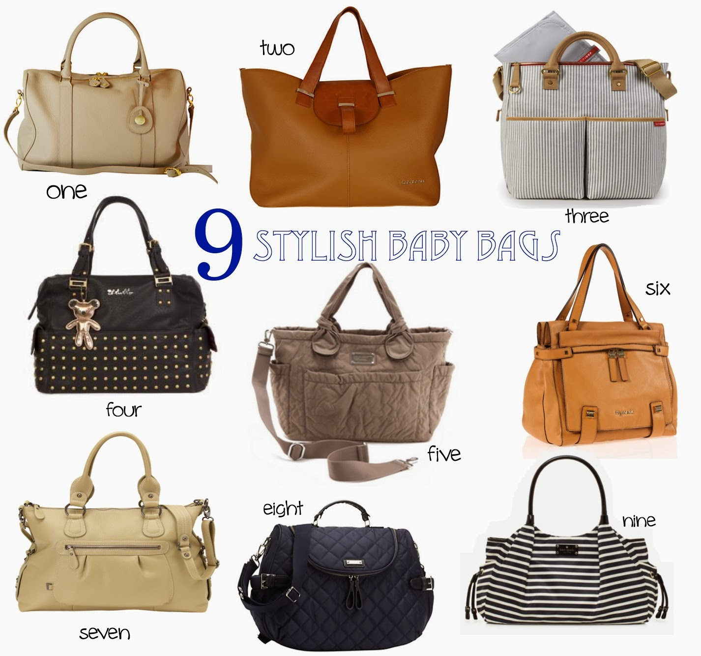 Stylish Handbags: Trendy Baby Bags
