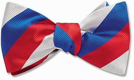 Patriotic bow tie from Beau Ties Ltd.