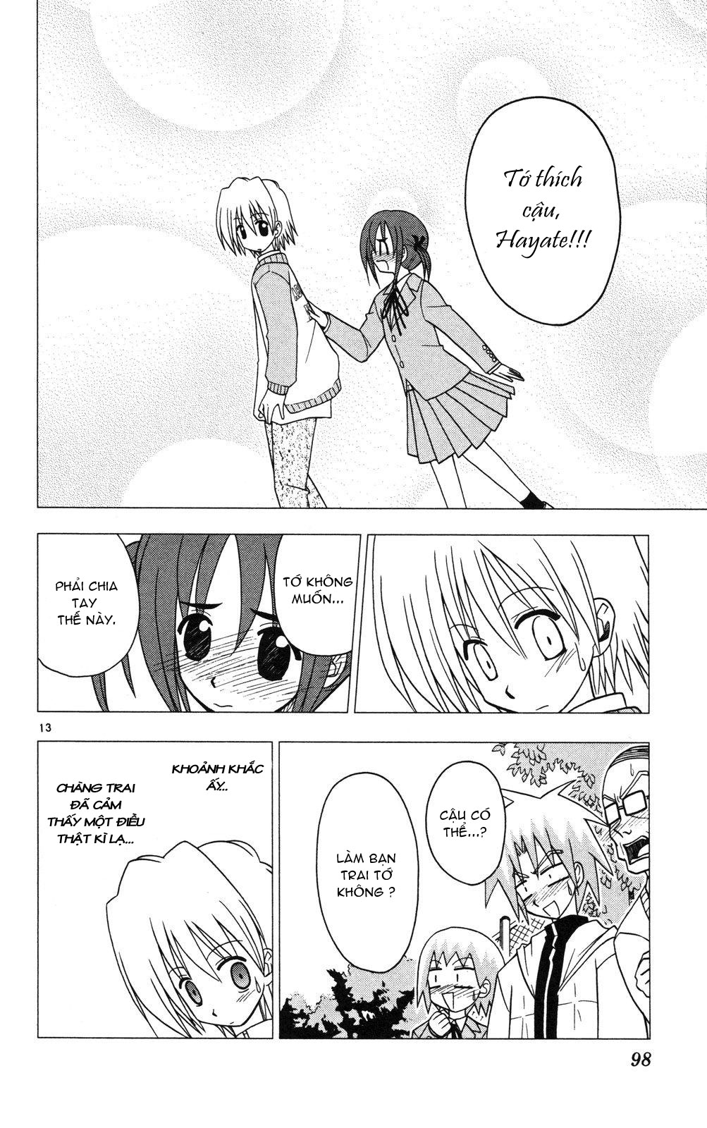 Hayate No Gotoku! trang 13