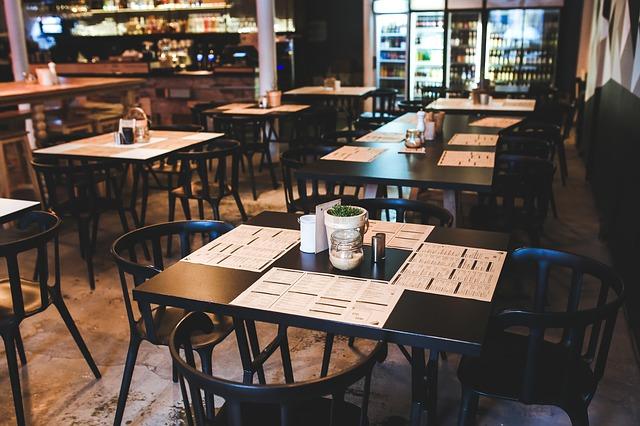 Desain Cafe Mewah Minimalis