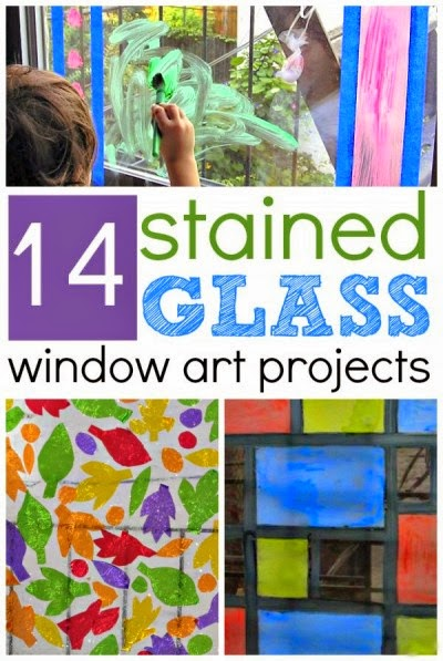 14 Kids Stained Glass Window Projects